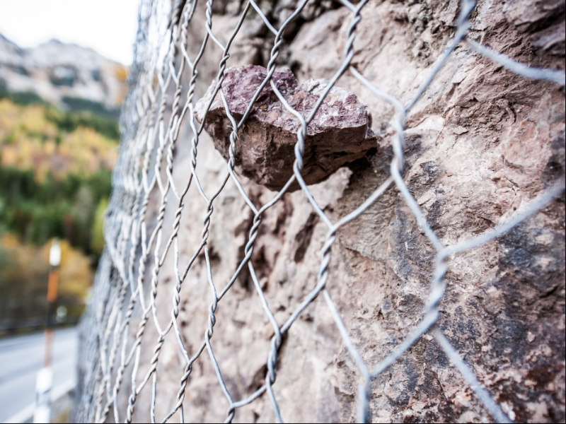 Rockfall Protection Mesh | 60 x 80 mm Opening and 2.7 mm Wire